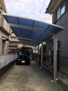 大和高田市のカーポート取替え