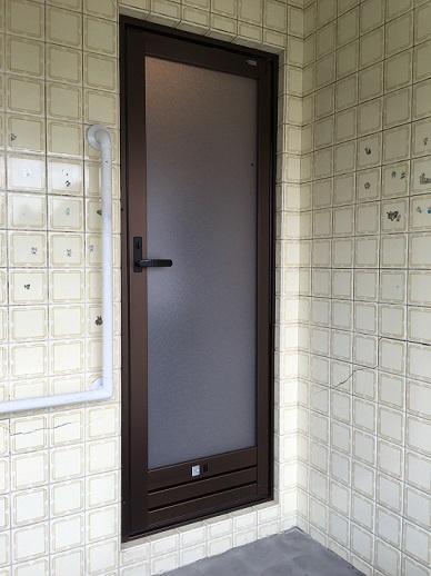 お風呂ドア交換