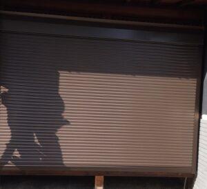 木製雨戸から電動シャッター