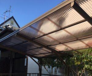 カーポート屋根張り替え