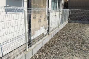 大和高田市フェンス取付工事