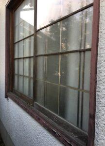 木製窓からアルミ窓へ交換