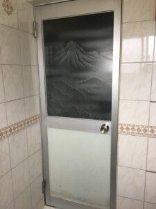 大和高田市 お風呂ドア交換